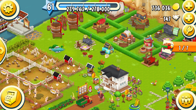 Mijn Hay Day Level 61